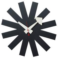 Asterisk Clock for George Nelson for Howard Miller, Rare
