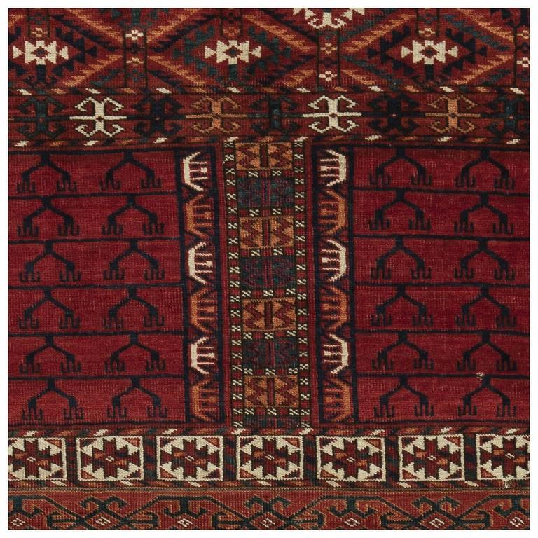 19th Century Turkmen Rug