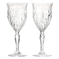24 Exceptional Stevens & Williams Water Goblets