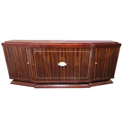 Macassar Ebony French Art Deco Sideboard by Majorelle