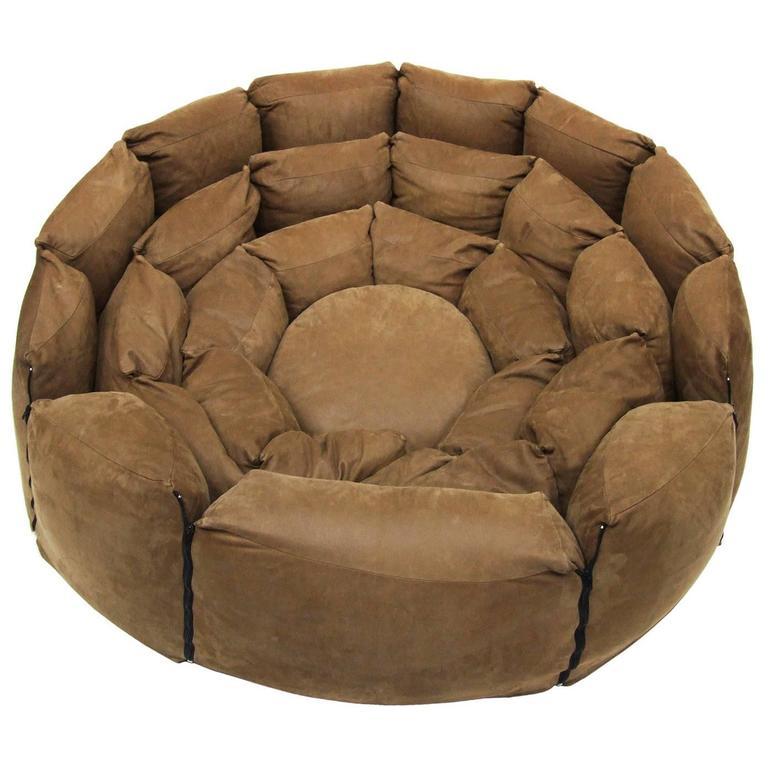 Italian Micama Leather Adjustable Sofa Daybed Modular Like Desede 1