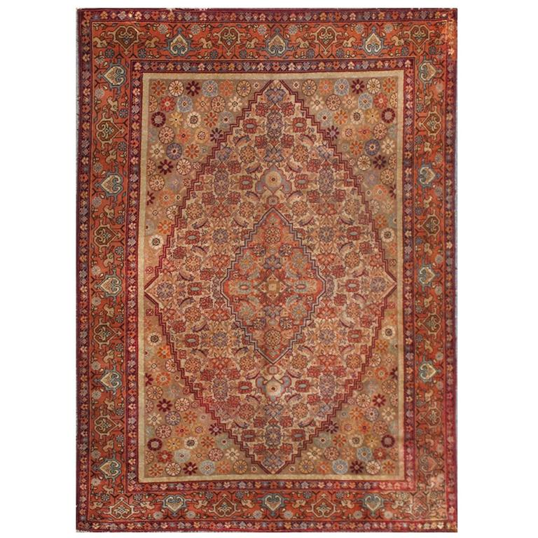 Antique Large Rug: Exceptionally Large Antique Khotan Rug For Sale At 1stdibs