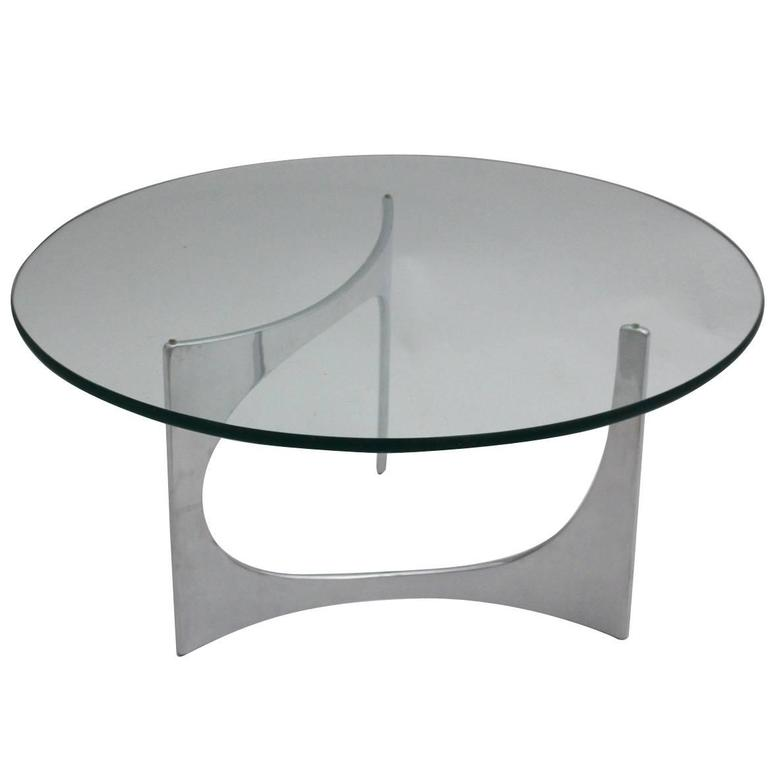 German Space Age Coffee Table by Knut Hesterberg, circa 1970