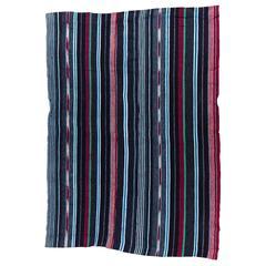 Vintage Indigo Textile by Yoruba Weaver from Nigeria