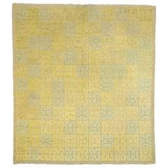 "Kinesen ""Chinese"" 20th Century Swedish Pile-Weave Carpet by Elsa Gullberg"