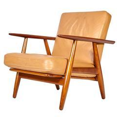 Hans J. Wegner GE-240 Armchair in Teak for Getama