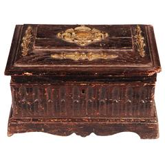 19th Century Oak Box
