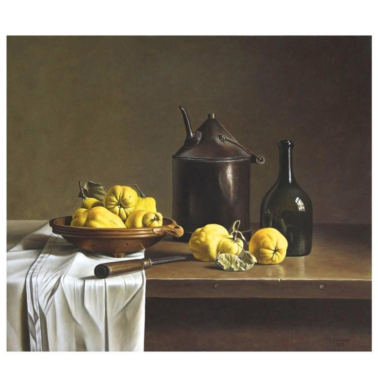Still Life with Quinces by Stefaan Eyckmans