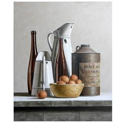 Still Life with Olive Oil Can by Stefaan Eyckmans