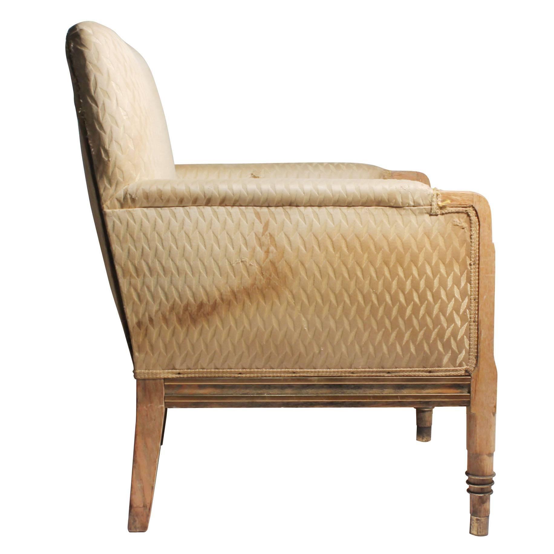 Vintage French / American Deco Club Chair