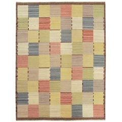 20th Century Swedish Flat-Weave Carpet