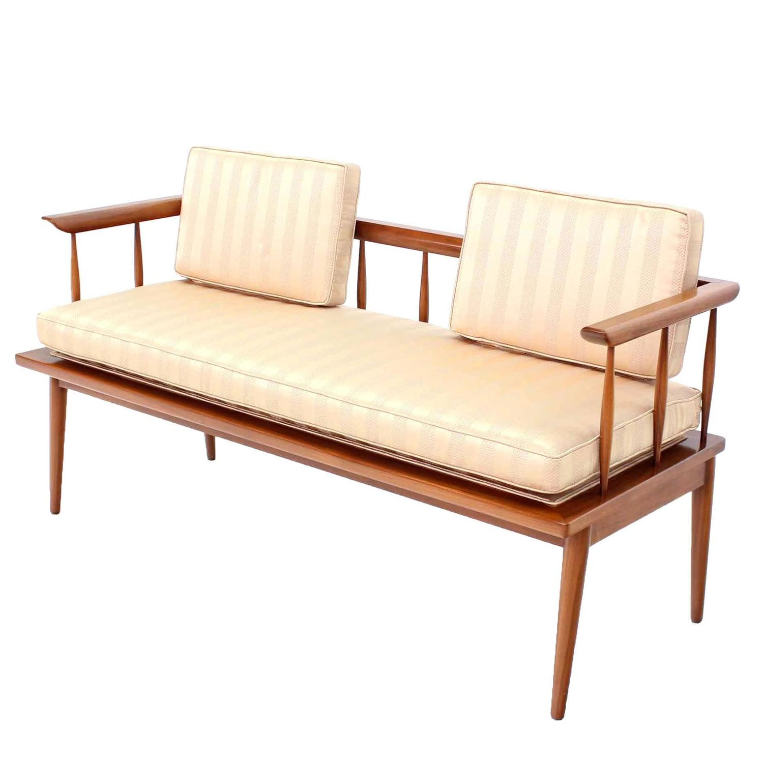 mid century modern shaker style bench for sale at 1stdibs
