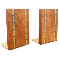 Martz Walnut Bookends for Marshall Studios