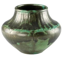 Shearwater Carved Pottery Vase