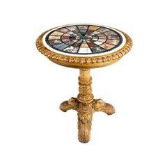 George IV Marble Specimen Table