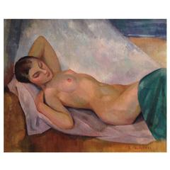 Reclining Nude Painting
