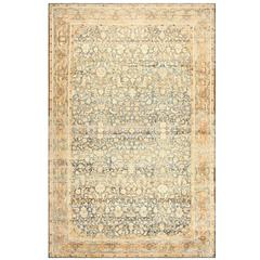 Beautiful Large and Decorative Antique Persian Malayer Rug