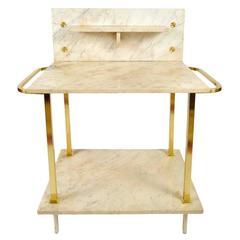 1930s Italian Marble Washstand