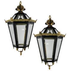 Pair of English Lanterns