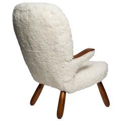 Philip Arctander Sheepskin Armchair