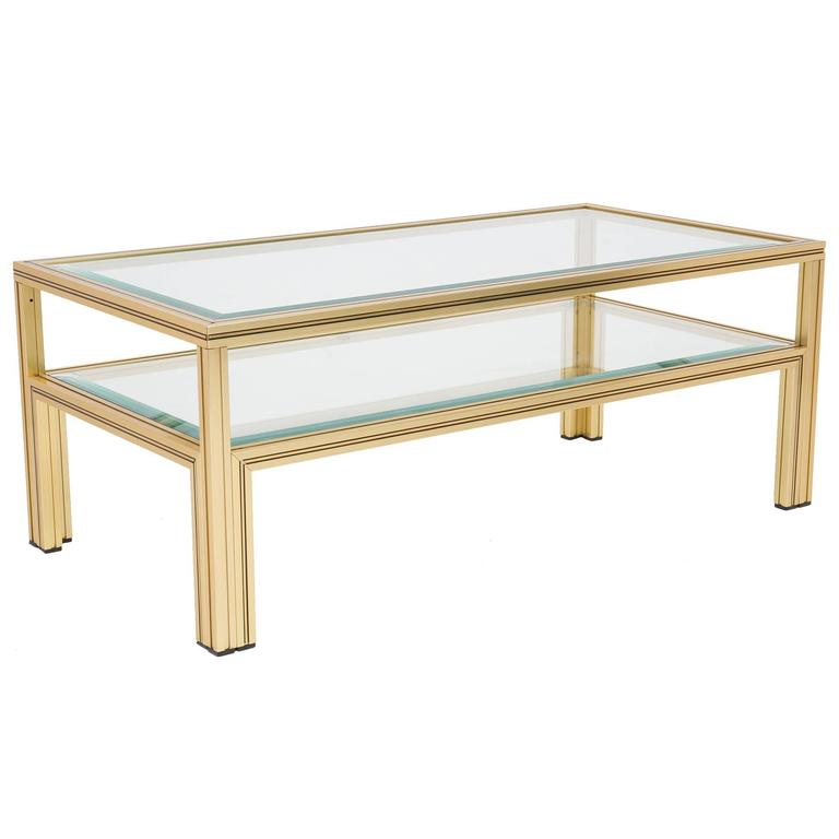 vintage pierre vandel paris coffee table at 1stdibs. Black Bedroom Furniture Sets. Home Design Ideas