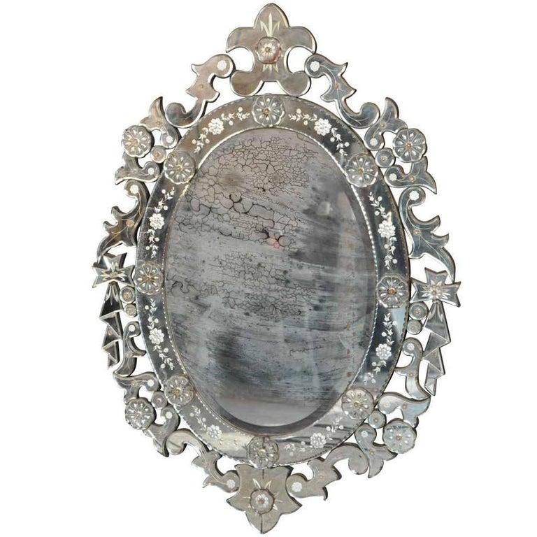 Late 19th Century Venetian Mirror For Sale