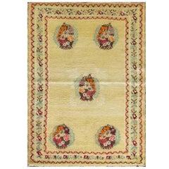 Antique Central Anatolia Oushak Rug