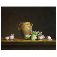 'Still Life with Kohlrabi and Turnips' by Stefaan Eyckmans