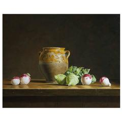 Still Life with Kohlrabi and Turnips by Stefaan Eyckmans