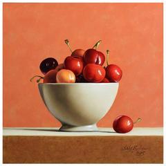Cherries in Bowl by Stefaan Eyckmans