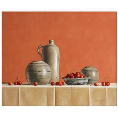 Cherries in Roman Glass by Stefaan Eyckmans