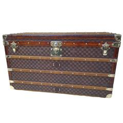 1889 Louis Vuitton Steamer Damier Trunk, Special Year
