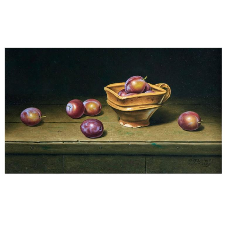 Still Life with Plums by Stefaan Eyckmans
