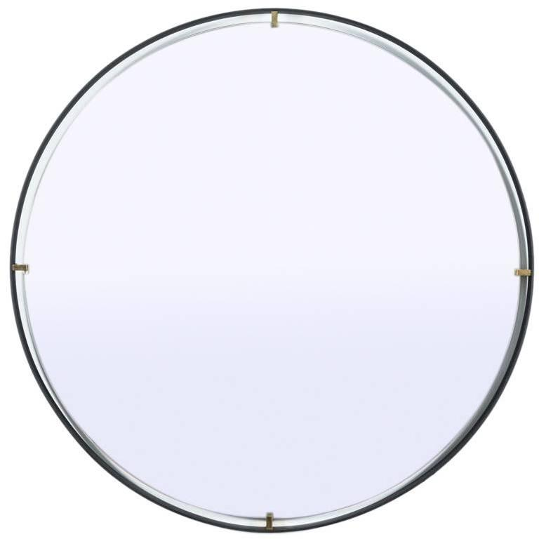 Trousdale Circular Floating Mirror by Orange Los Angeles