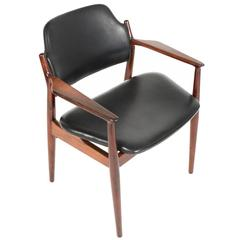 Arne Vodder No. 62A Rosewood Armchair