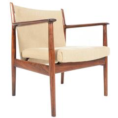 Arne Vodder for Sibast Rosewood Armchair