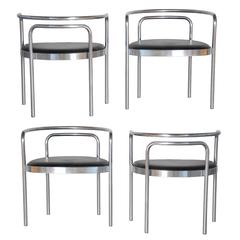 Set of Four PK12 Armchairs