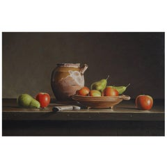 'Still Life with Apples and Pears' by Stefaan Eyckmans