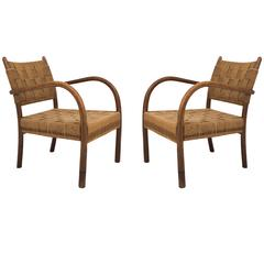 Pair of Lounge Chairs, 1930