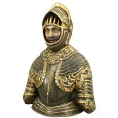 Antique Bust of a Spanish Knight
