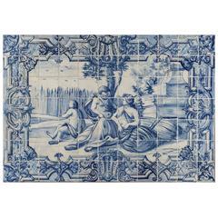 18th Century Portuguese Tiles Mural