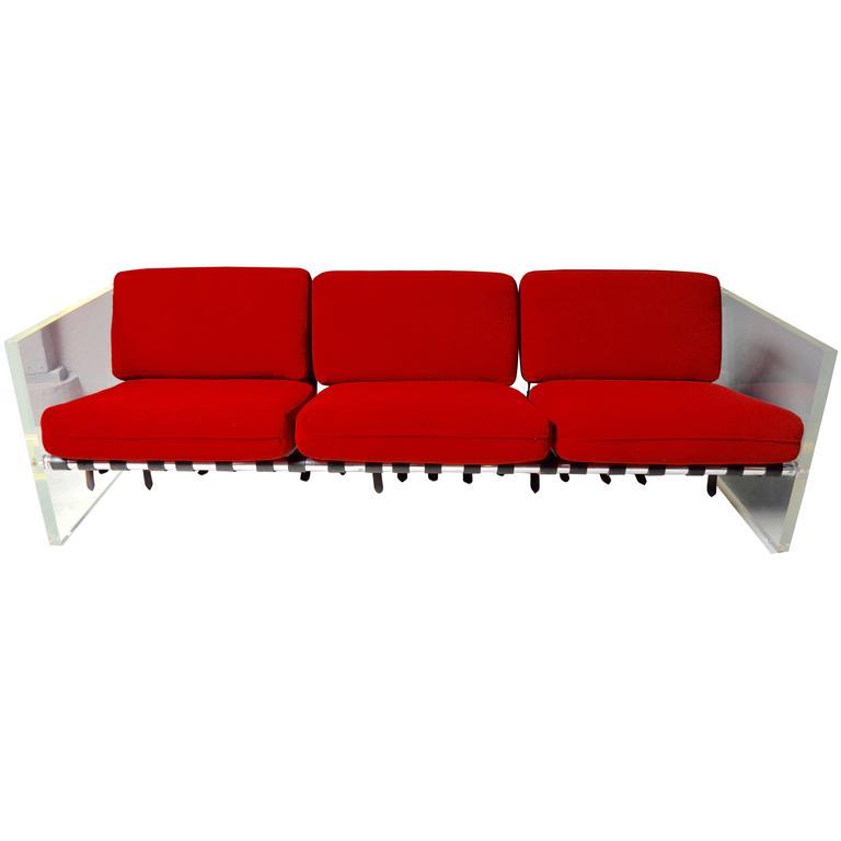 Selig Lucite Sofa