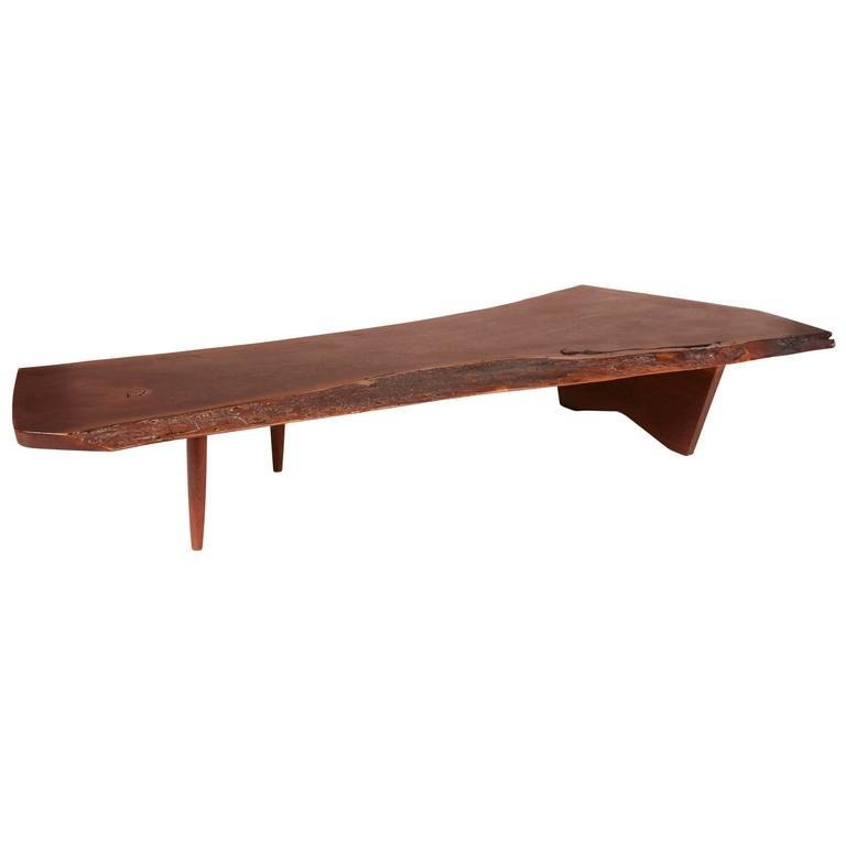 Large George Nakashima Coffee Table At 1stdibs