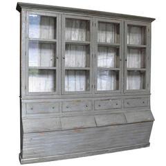 Spanish 19th Century Grenotier Grain Storage Cabinet