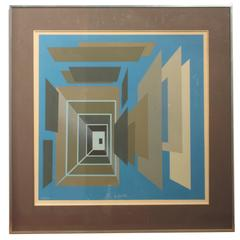 Bernard Jardel Lithography Signed and Numbered