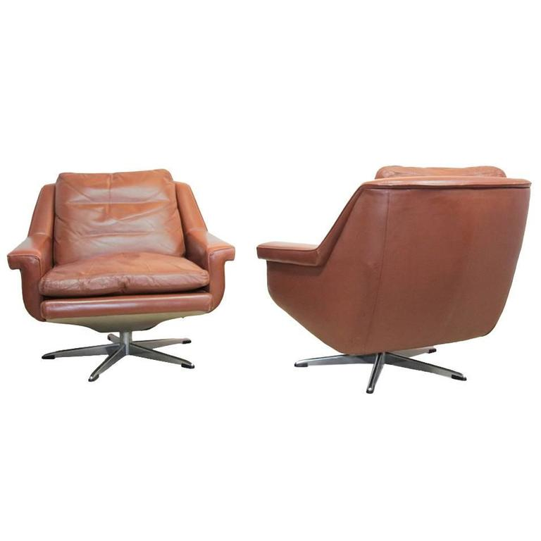 this leather swivel chairs danish circa 1960 is no longer available