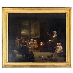 "After William Hogarth ""the School Room"""