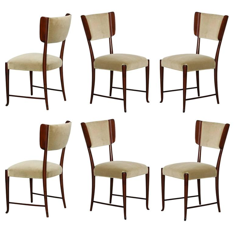 Paolo Buffa Dining Chairs.