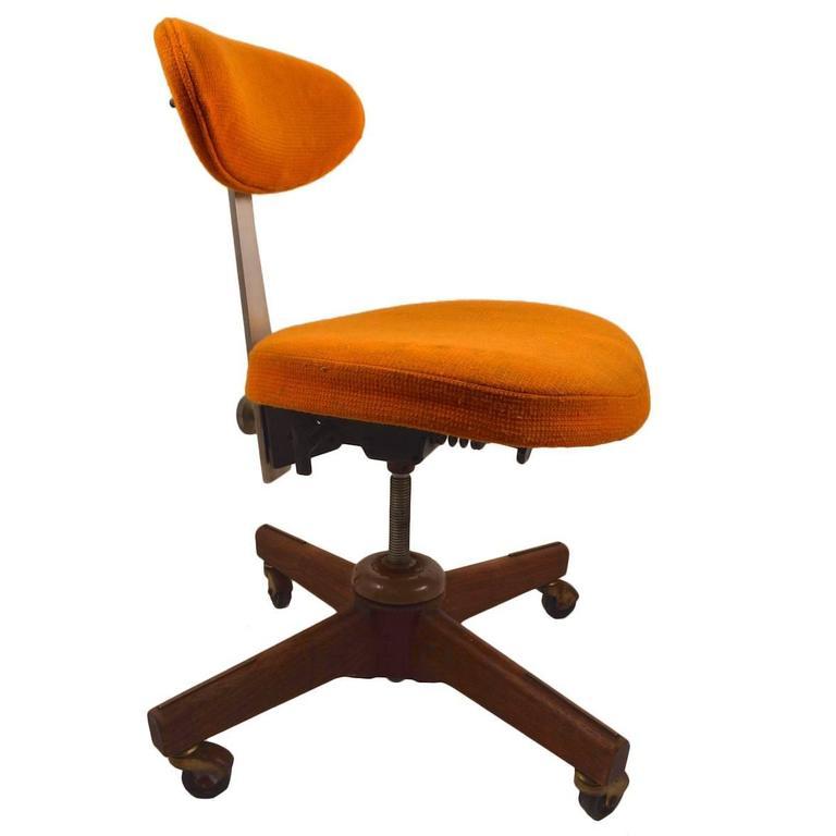 Jens Risom Swivel Desk Chair