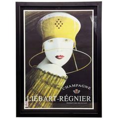 Liebart Regnier Champagne Poster by Philipe Sommer